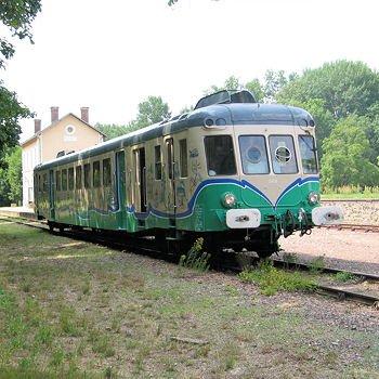 le train touristique de la vallée du loir.