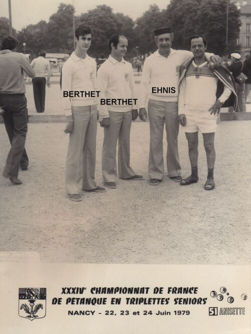 Les qualifiés du 06 de 1971 à 1980