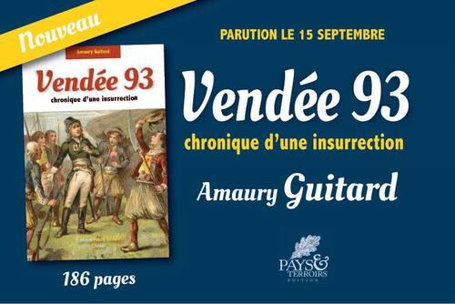Communiqué d'Amaury Guitard...