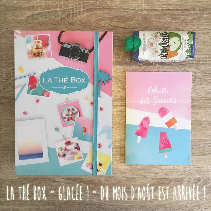 "La ThéBox ""Glacée !"" du mois d'Août"