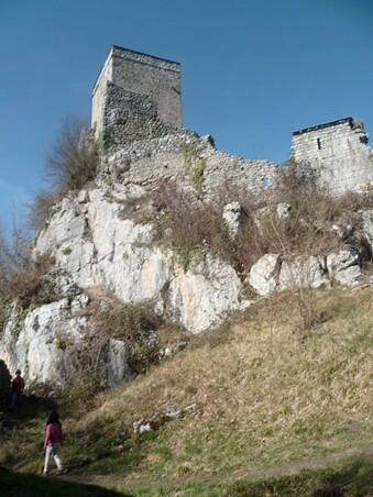 VTT : château de Bramevaque (Barousse) - 65