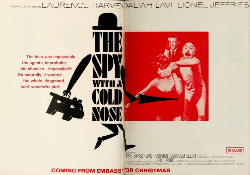 THE SPY WITH A COLD NOSE box office usa 1966