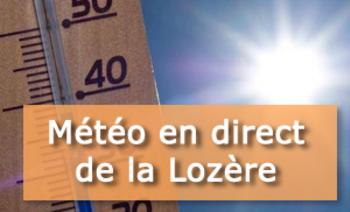 météo en direct de la Lozère