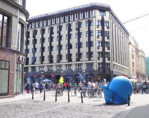 Riga: autour de la place de la Liberté et de l'Opéra (photos)
