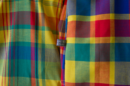 Mylène - Couture : Sacs cabas Madras