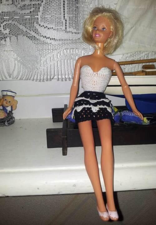 Défilé stylistes  Barbie Futuriste(4)