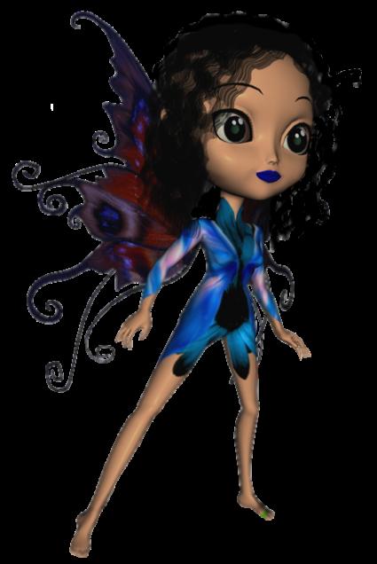 Elfette-bleu