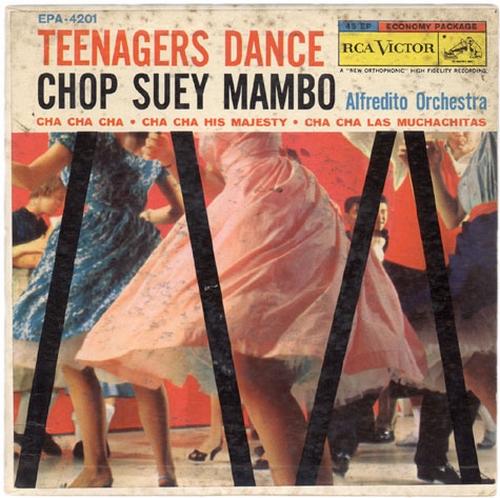 """Alfredito & His Orchestra : Album """" Cha Cha Cha Goes Modern """" Tico Records TRLP 1035 [ US ]"""
