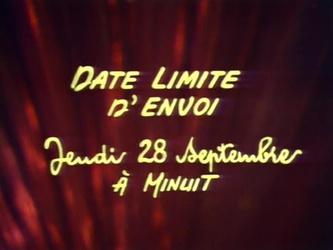 26 septembre 1972 / JT Guy Lux pour CADET-ROUSSELLE