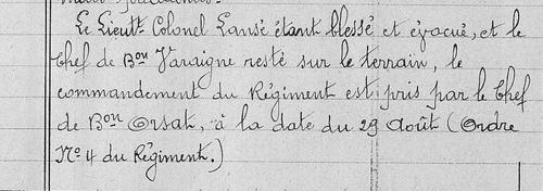 02* 1914: Octobre du 11 au 24 - 230 ème RI en Meurthe et Moselle