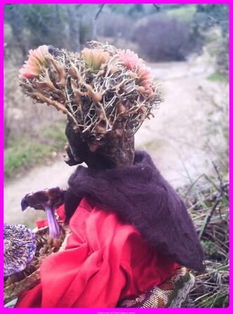 Et voici Leyma, la dame aux champignons