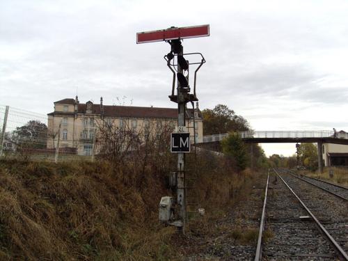 La gare de Mirecourt en 2018