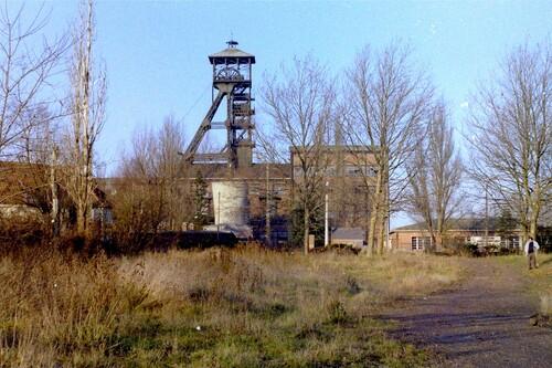 Puits de mine dans le Pas de Calais