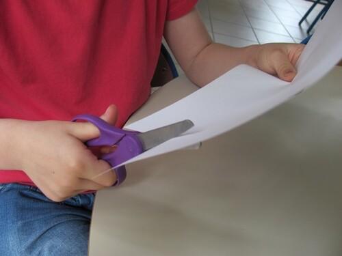 Les actions du papier (projet papier)