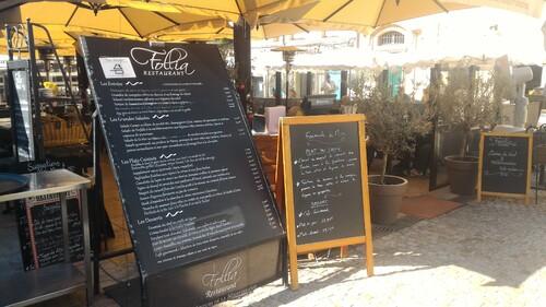 Cuisine du Sud au Follia, Place des Cardeurs