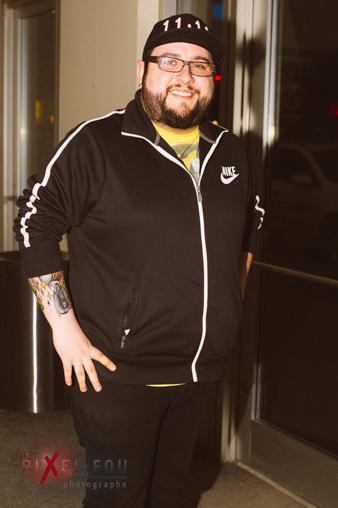 Jason a assisté à la première Montréalaise de Réal Béland hier soir