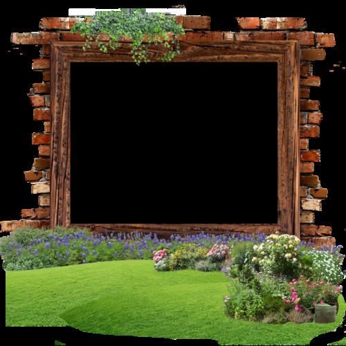 cadre nature jardin