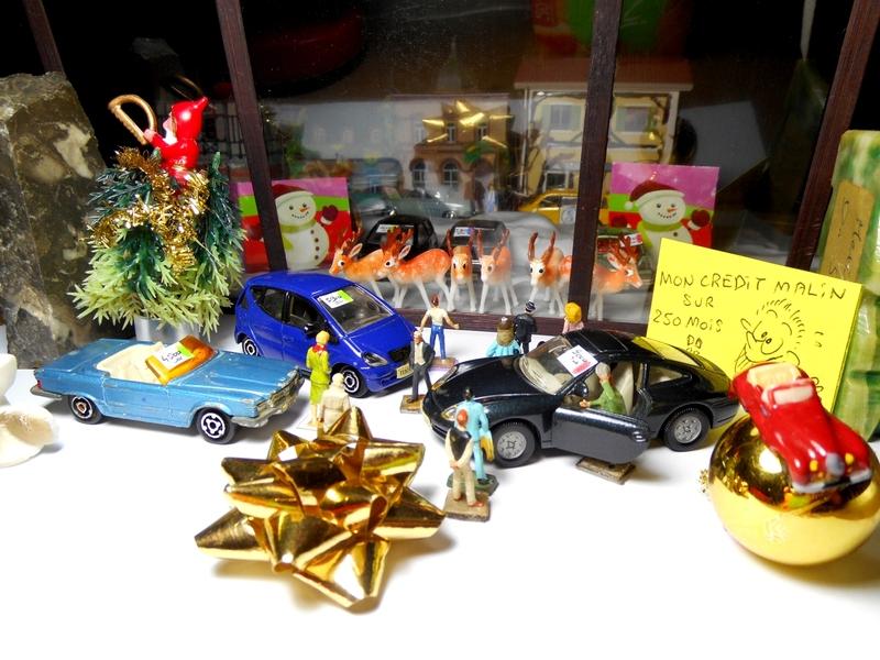 Aujourd'hui : une candidate, des ruines en sucre, c'est Noël, le temps qui coule et une mini Yvette Leglaire (créée en 2009)