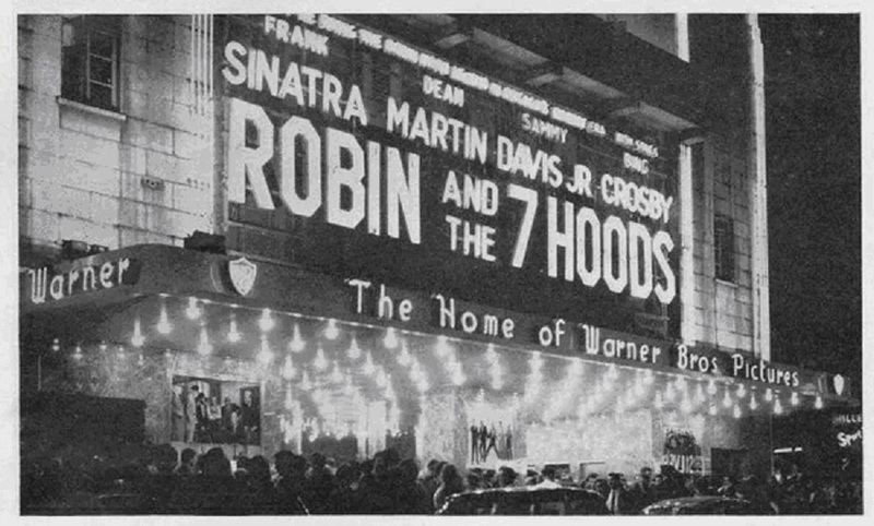 ROBIN AND THE 7 HOODS BOX OFFICE USA 1964