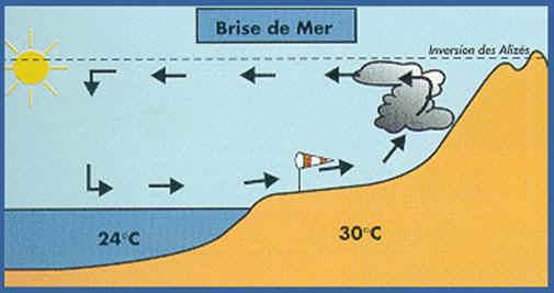 Le climat de la Réunion