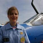 142. Virginie Guyot - leader de la Patrouille de France
