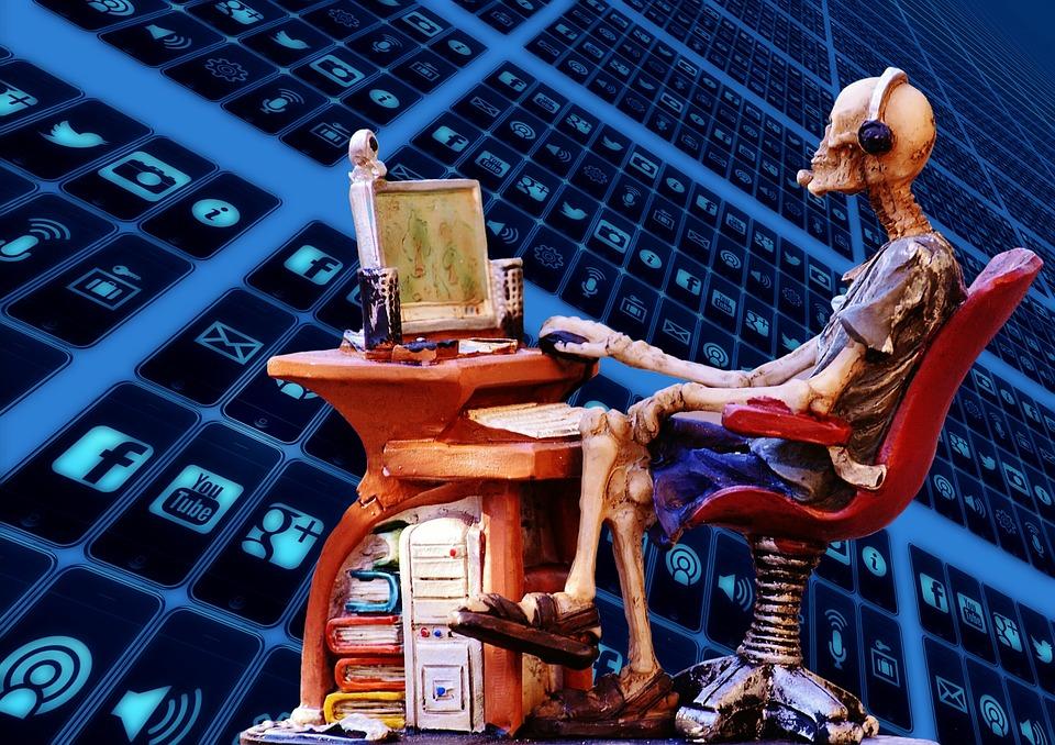 Recherches Informatiques, Internet, Chat, Moniteur