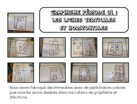 Graphisme – Période 01 : Les lignes verticales et horizontales.