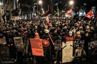 black red block brasil