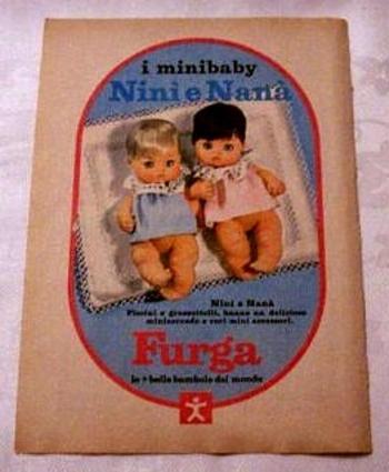 FURGA  MINIBABY Bebè NANA Pub 02