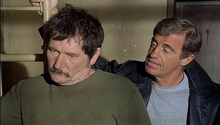 JEAN PAUL BELMONDO - JACQUES DERAY - MICHEL AUDIARD - LE MARGINAL - 1983