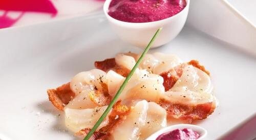 Carpaccio of Scallops Jacques
