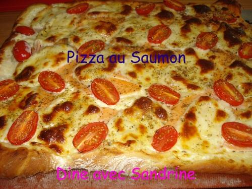 Une Pizza au Saumon