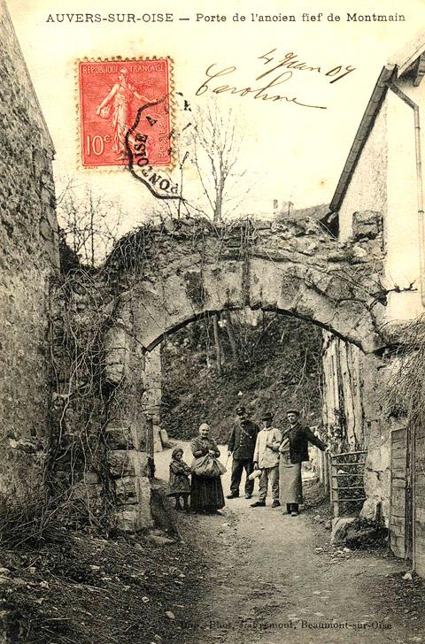 Auvers sur Oise - Porte de l'ancien fief Montmaur - Ville d'Auvers sur Oise