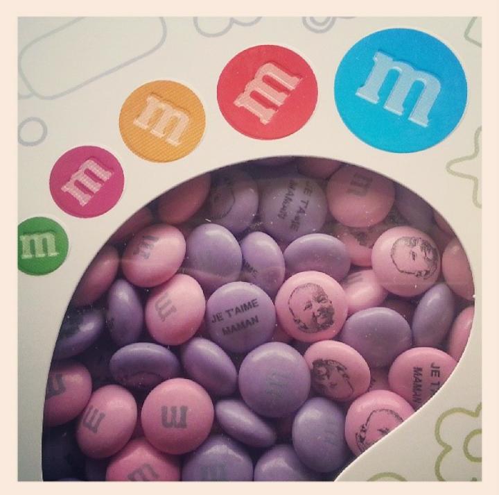 M&M's personnalisés pour la fête des mères