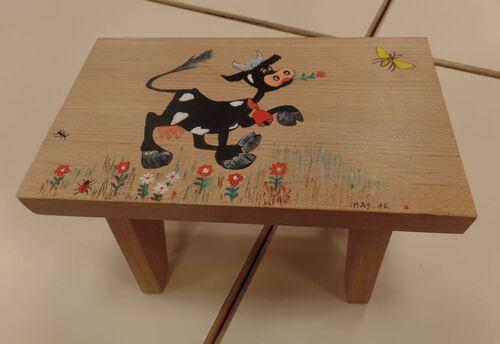 La vache de Madeleine