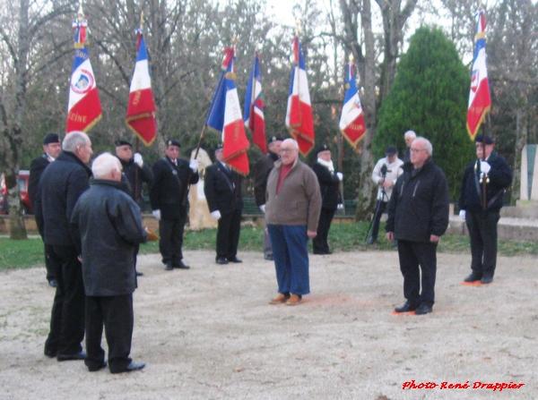 L'Anniversaire de la fin de la guerre d'Algérie a été commémoré dans le Châtillonnais....