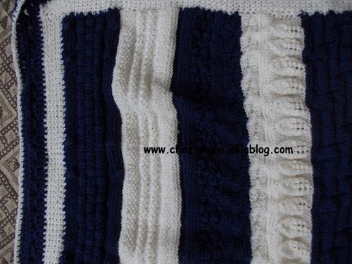Tricoti, tricota, tricotons, des couvertures pour l'hiver