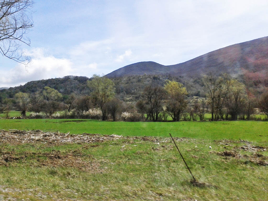 En rute vers les gorges du Verdon...