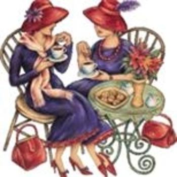 femmes sur un banc
