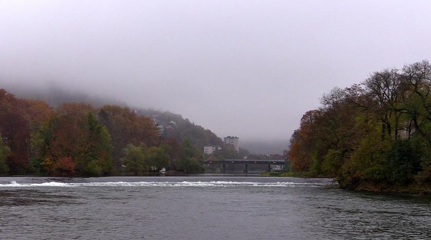Un jour de novembre sur les rives du Doubs