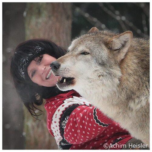 Tanja Askani, protectrice des Loups