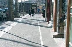 le béton et manque d'espace vert dans les villes