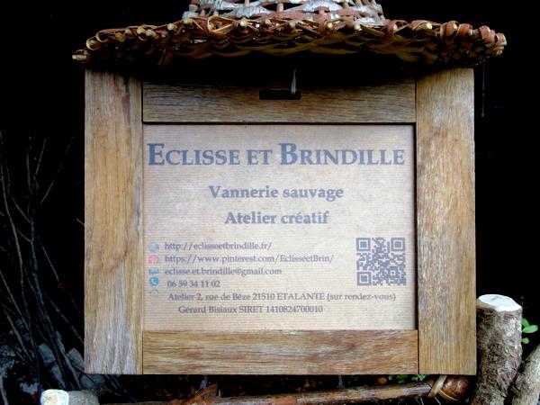 """Initiation à la """"Vannerie sauvage"""" par Gérard Bisiaux au Cabinet  des Z'impossible à Chamesson..."""