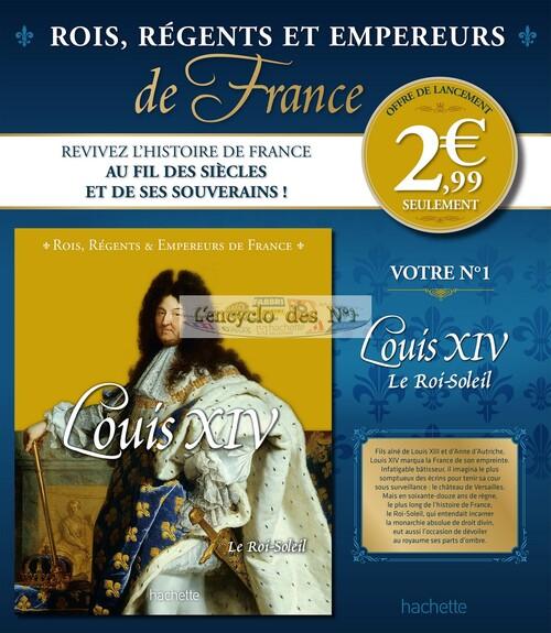 N° 1 Rois, Régents et Empereurs de France - Test