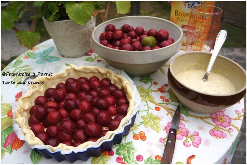 Tarte aux prunes