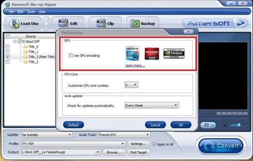 Un blu-ray en mp4 pour ma PSP 3000