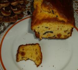 Cake aux olives et chorizo