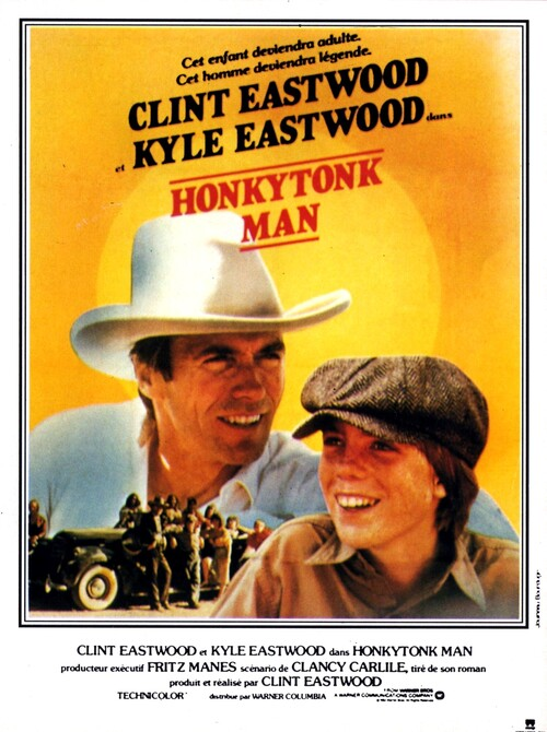 HONKY TONK MAN - BOX OFFICE CLINT EASTWOOD 1983