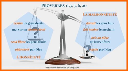 Proverbes 11 - Lecture et Prière