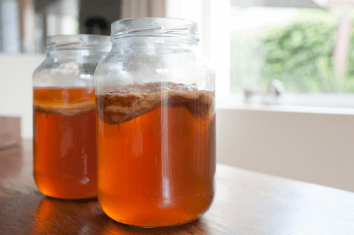 infusion du thé